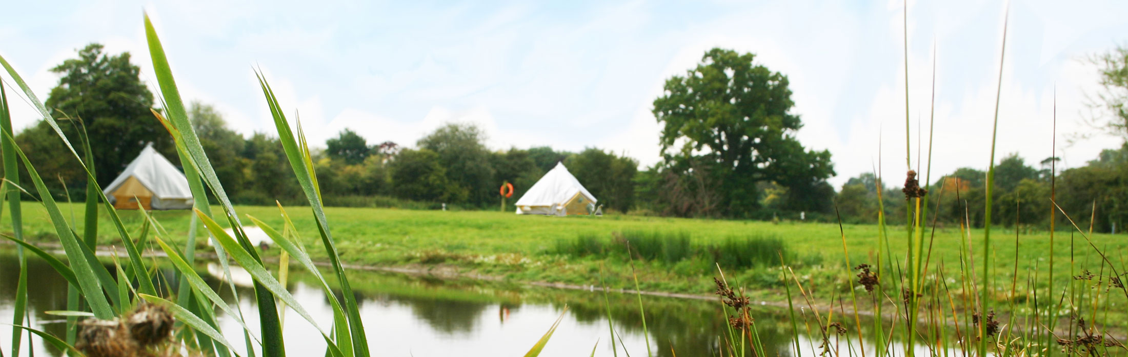 Bell tent holidays